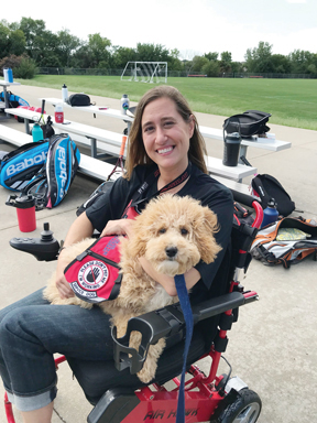 Service dog spurs woman with debilitating disease to pay it